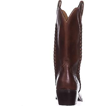 Patricia Nash Womens Bergamo Leather Pointed Toe Mid-Calf Cowboy Boots