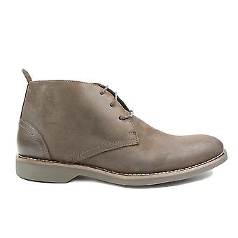 Anatomic Furtudo III Cappuccino Brown Leather Mens Lace Up Chukka Boots