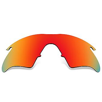 Polarized Replacement Lenses for Oakley M Frame Heater Sunglass Red Anti-Scratch Anti-Glare UV400 by SeekOptics