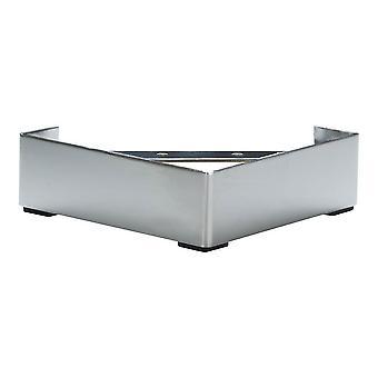 Chrome Corner møbler leg 6,5 cm