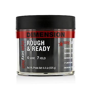 Sexy Hair Concepts Style Sexy Hair Rough & Ready Dimension With Hold - 125g/4.4oz