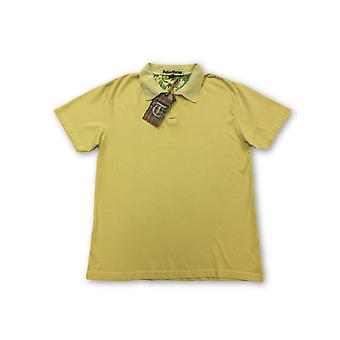 Tailor Vintage polo in yellow cotton jersey