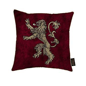 Game of Thrones canvas kudde med Lannister design