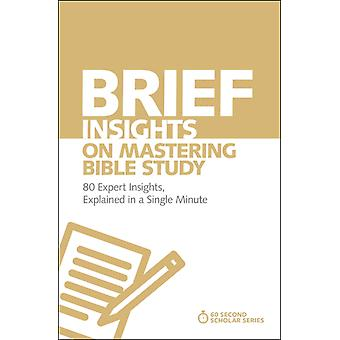 Brief Insights on Mastering Bible Study by Michael S Heiser