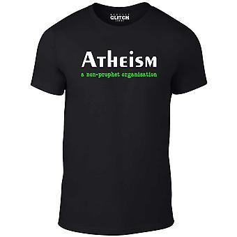 Men's Atheismus - ein T-Shirt der nicht-prophetischen Organisation