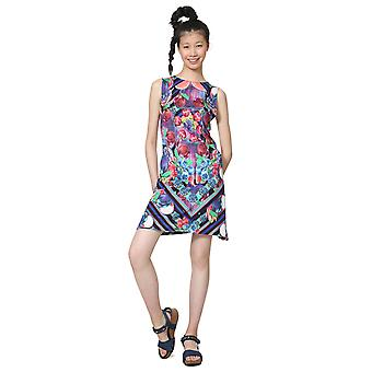 Desigual Women's Nika Fruit Print Sleeveless Jersey Summer Dress