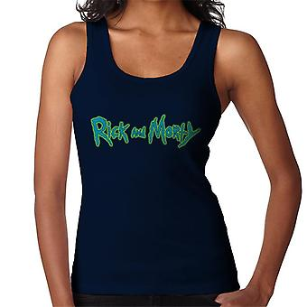 Rick and Morty Classic Logo Glow Women's Vest