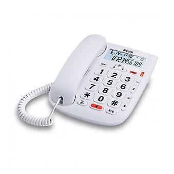 Lanka verkon vanhusten Alcatel T MAX 20 valkoinen