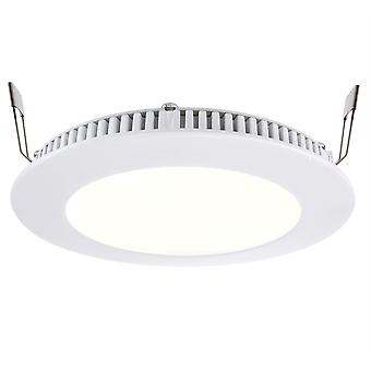 LED recessed ceiling lamp LED Panel 8 7W 2700 K white D145mm dimmable Aluminium IP20