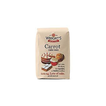Wrights bakning morot Cake mix-singel