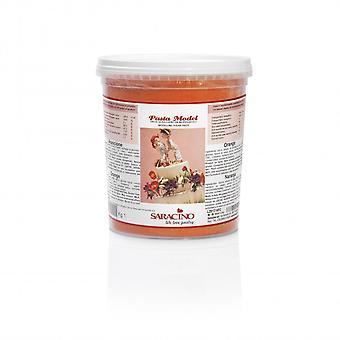 Saracino Modeling paste-oranje 1kg-BULK verpakking van 6