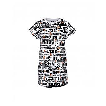 Moschino All Over Toy Logo T-shirt Kleid