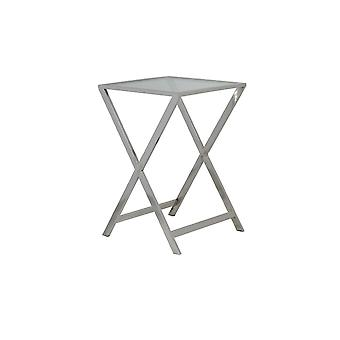 Light & Living Table 40x40x58cm Soro Nickel With Glass