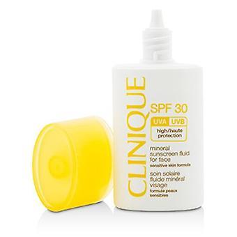 Clinique Mineral Sonnenschutzflüssigkeit für Gesicht Spf 30 - Sensitive Skin Formel 30ml/1oz