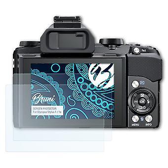 ブルーニ2xスクリーンプロテクターオリンパススタイラス1 / 1s保護フィルムと互換性