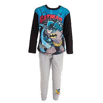 Batman Childrens/Kids Comic Long Top And Bottoms Pyjamas