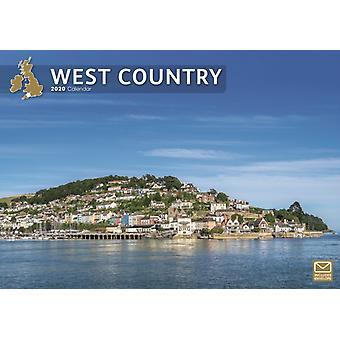 West Country A4 Calendar 2020