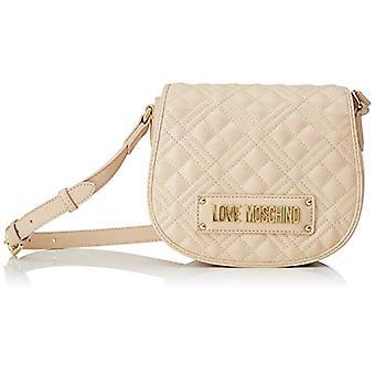 الحب موسكينو Jc4006pp1a المرأة بيج الكتف حقيبة (الطبيعية) 9x17x20 سم (W x H x L)