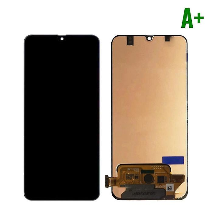 Stuff Certified® Samsung Galaxy A70 A705 Screen (Touchscreen + AMOLED + Parts) A + Quality - Black