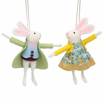 Easter Bunny Decorations by Gisela Graham | Gifts from Handpicked