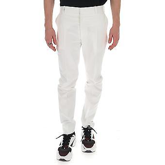 Alexander Mcqueen 599308qos449000 Männer's weiße Baumwollhose