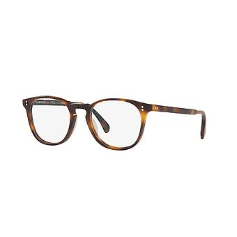 Oliver Peoples Finley ESQ. OV5298U 1552 Semi Matte Dark Mahogany Glasses