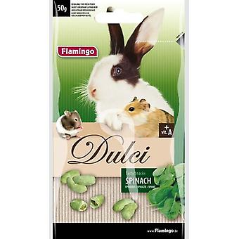 Flamingo Dulci 50G Rodent Snack Spinach (Small pets , Treats)