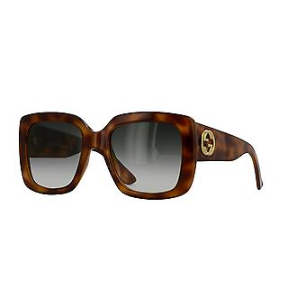 Gucci GG0141S 002 Havana/Grey Gradient Sunglasses