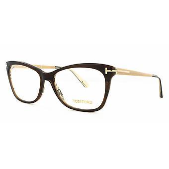 Tom Ford TF5353 050 Óculos Marrons Escuros