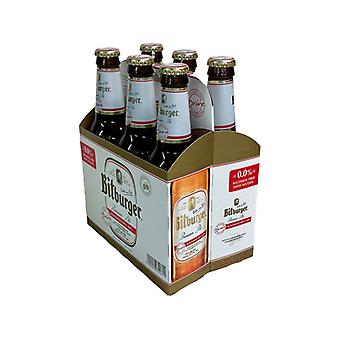 Bitburger Non Alcoholic Beer-( 330 Ml X 6 Bottles )