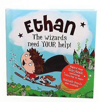 Historie og Heraldry Magiske Navn Storybook - Ethan