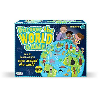 Fiesta Crafts Discover the World Map Game