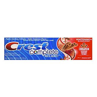 Crest whitening expressions anticavity toothpaste, cinnamon rush, 6 oz