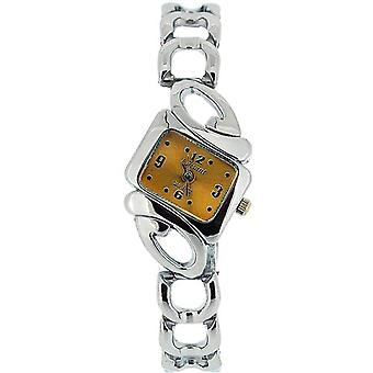 The Olivia Collection Ladies Goldtone Dial Armband Strap Dress Watch COS03