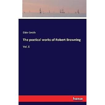 The poetical works of Robert BrowningVol. X by Smith & Elder