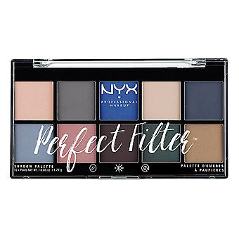 NYX PROF. make-up perfecte filter Shadow Palette mariene laag