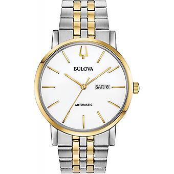Bulova 98C130 Men's Clipper Automatic Two Tone Wristwatch