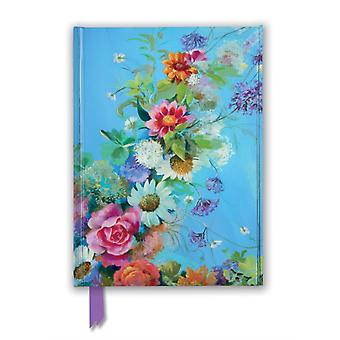 Nel Whatmore Love For My Garden Foiled Journal by Created by Flame Tree Studio