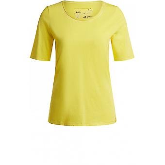 Oui Yellow Jersey T-Shirt