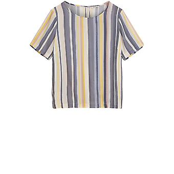 Sandwich Clothing Candy Striped Blouse