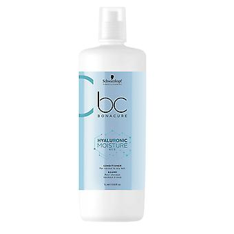 Schwarzkopf Bonacure Conditionneur Hyaluronic Moisture Kick 1000ml pour normal to Dry Hair