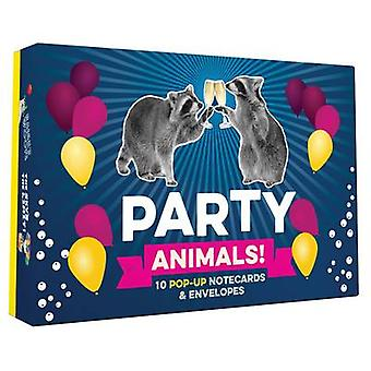 Party Animals Popup Notecard Collection par Chronicle Books