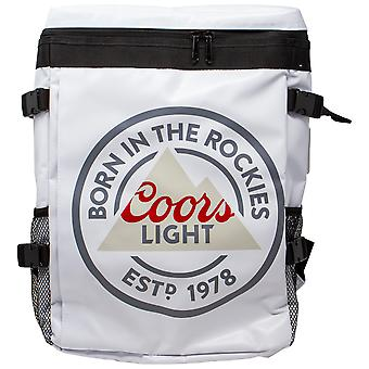 Coors Light Beer Logo Backpack Cooler