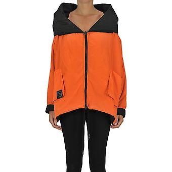 Kimo No-rain Ezgl516001 Women's Orange Nylon Outerwear Jacket