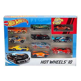 Vehicul Playset Hot Wheels Metal (10 buc)