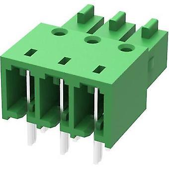 Degson Pin kapsling - PCB 15EDGA Totalt antal stift 6 Kontaktavstånd: 3,50 mm 15EDGA-3,5-06P-14-00AH-1 st(ar)
