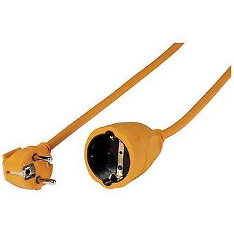 Vivanco 61158 Current Cable extension 16 A Orange 10.00 m