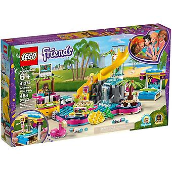 LEGO 41374 Andrea es Poolparty