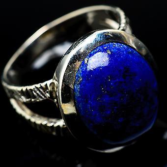 Lapis Lazuli Ring Size 8 (925 Sterling Silver) - Gioielli Boho Vintage Fatti a mano RING15750
