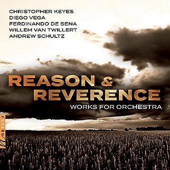 Keyes / Moravian Philharmonic Orch - Reason & Reverance [CD] USA import